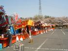 落合公園・さくら祭り