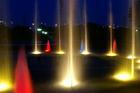落合公園の噴水