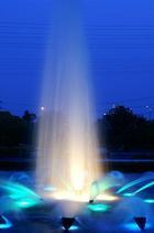 落合公園の噴水�